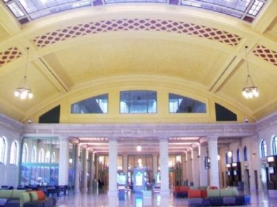 Former Union Depot Trackside Waiting Room image. Click for full size.