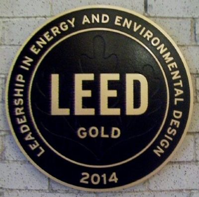 LEED Gold Award image. Click for full size.