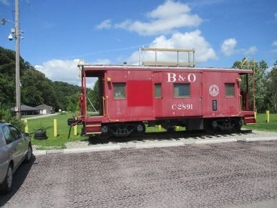 Connellsville Caboose image. Click for full size.