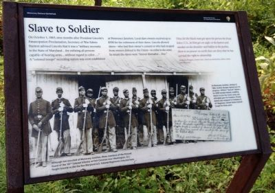Slave to Soldier Marker image. Click for full size.