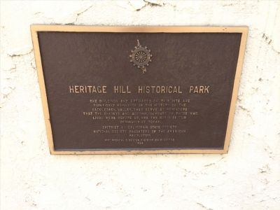 Heritage Hill Historic Park Marker image. Click for full size.