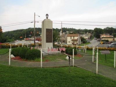 Connellsville War Memorial Marker image. Click for full size.
