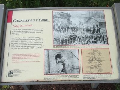 Connellsville Coke Marker image. Click for full size.