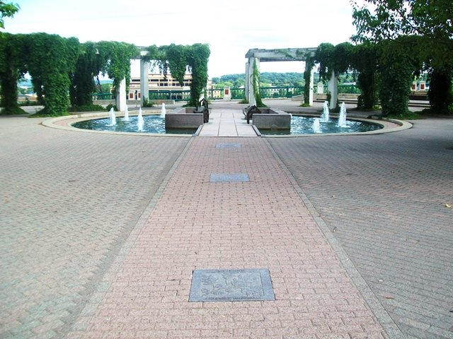 History of Saint Paul Markers at Kellogg Park Mall