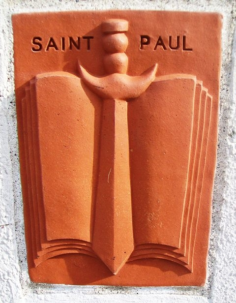 History of Saint Paul Terra Cotta Panel