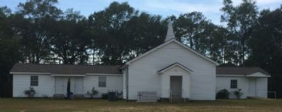 Mt. Pleasant Baptist Church (across street) image. Click for full size.