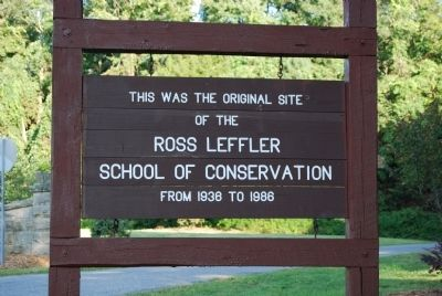 Ross Leffler School of Conservation Original Site image. Click for full size.