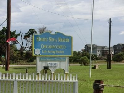 Chicamacomico Life-Saving Station Marker image. Click for full size.