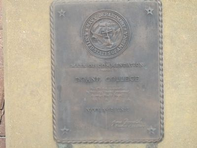 Navy Department - United States of America Marker image. Click for full size.