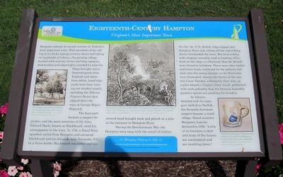 Eighteenth-Century Hampton Marker image. Click for full size.
