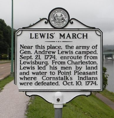 Lewis' March Marker image. Click for full size.