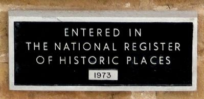 In the National Register of Historic Places image. Click for full size.