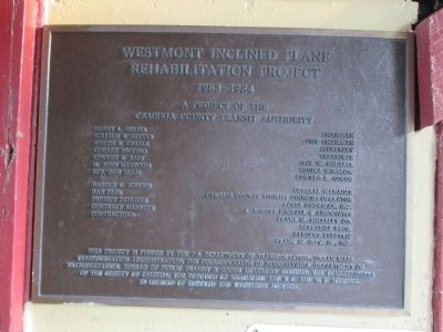 Rehabilitation Plaque image. Click for full size.