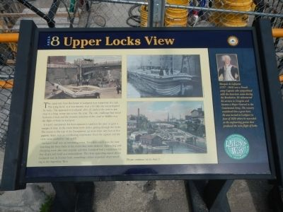 Upper Locks View Marker image. Click for full size.