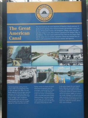 The Great American Canal Marker image. Click for full size.