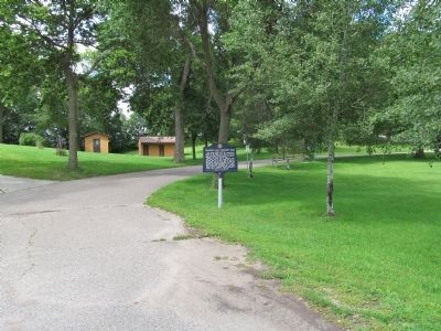Diamond Lake Community Park and Marker image. Click for full size.