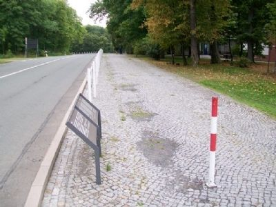 """Blood Road"" / ""Blutstraße"" and Marker image. Click for full size."