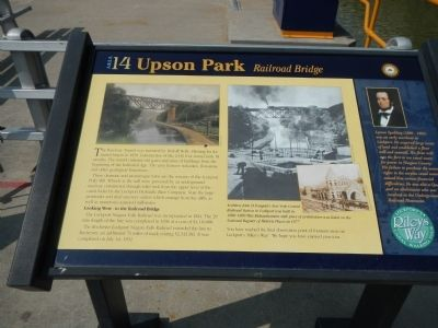 Upson Park Marker image. Click for full size.