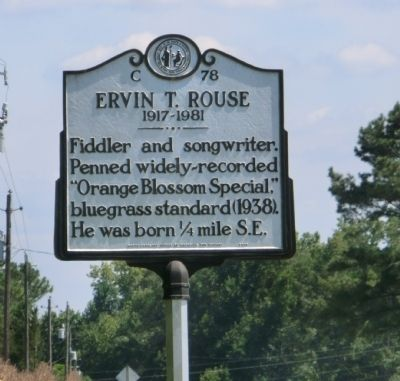 Ervin T. Rouse Marker image. Click for full size.