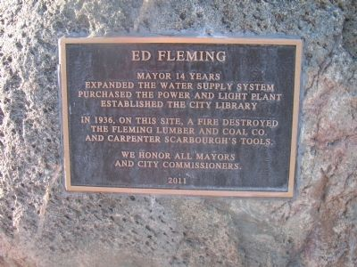 Ed Fleming Marker image. Click for full size.