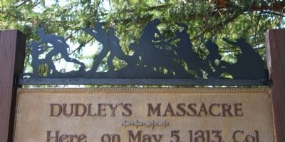 Dudley's Massacre Marker image. Click for full size.