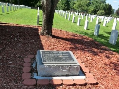New Bern National Cemetery image. Click for full size.