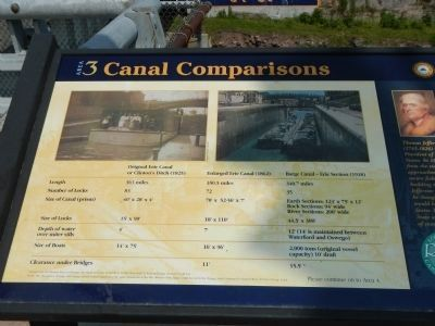 Canal Comparisons Marker image. Click for full size.