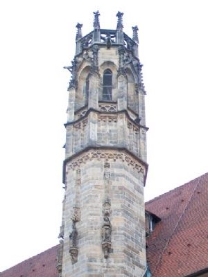 Augustinian Monastery Church Tower image. Click for full size.