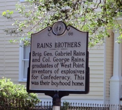 Rains Brothers Marker image. Click for full size.