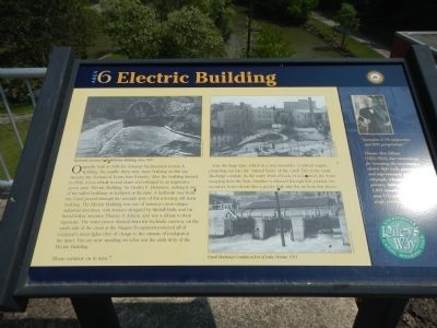 Electric Building Marker image. Click for full size.