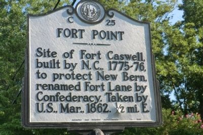 Fort Point Marker image. Click for full size.