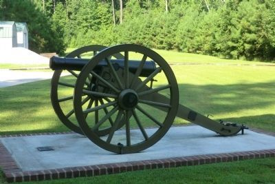 New Bern Battlefield Park Cannon image. Click for full size.