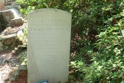 Josiah Bell Tombstone-Old Burying Ground Cemetery image. Click for full size.