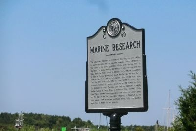 Marine Research Marker image. Click for full size.