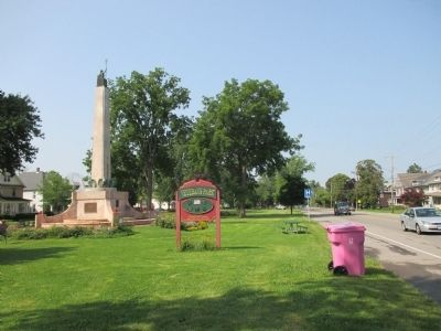 Lockport War Memorial image. Click for full size.
