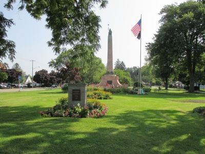 Lockport War Memorial Marker image. Click for full size.