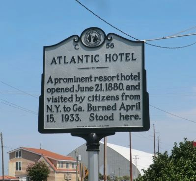 Atlantic Hotel Marker image. Click for full size.