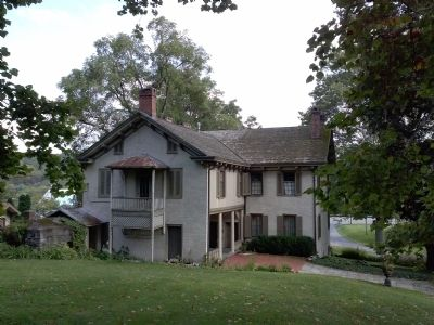 Centre Furnace Mansion, Back View image. Click for full size.