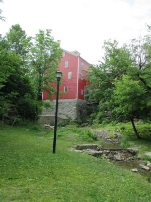 Williamsville Water Mill image. Click for full size.