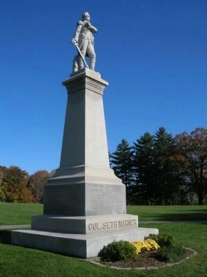 Colonel Seth Warner Monument image. Click for full size.