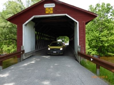 Silk Road Covered Bridge image. Click for full size.