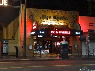 Site of the Pig' N Whistle image. Click for full size.