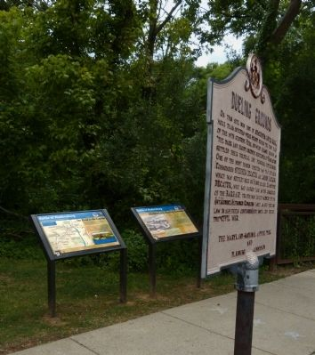 Three Marker's at Dueling Creek image. Click for full size.