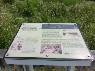 Hammocks Beach State Park Marker image. Click for full size.