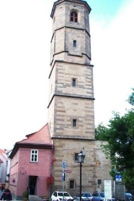 Paulskirchturm / Paul's Church Tower and Marker image. Click for full size.