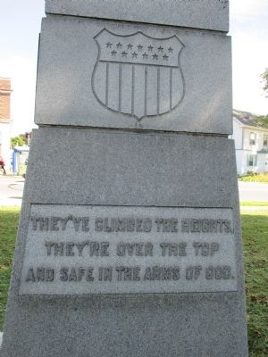 In Honor of the Soldiers, Sailors & Marines Memorial image. Click for full size.