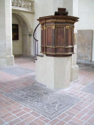Predigerkirche / Preachers' Church Pulpit image. Click for full size.
