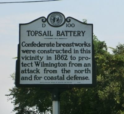 Topsail Battery Marker image. Click for full size.
