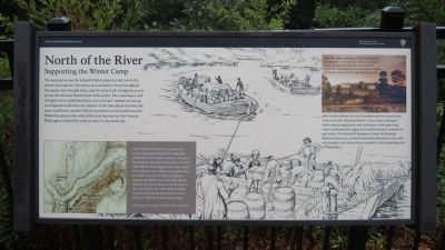 North of the River Marker image. Click for full size.