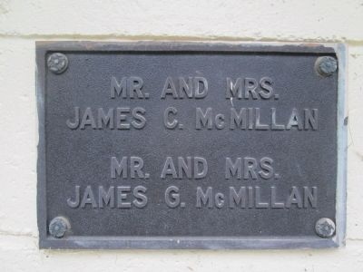 McMillan Building plaque image. Click for full size.